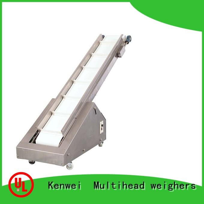 Kenwei Brand rotary collecting custom packaging conveyor