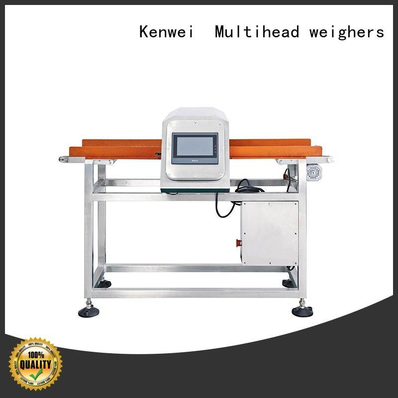 dropped paper packaging foil Kenwei Brand meat metal detector manufacturer