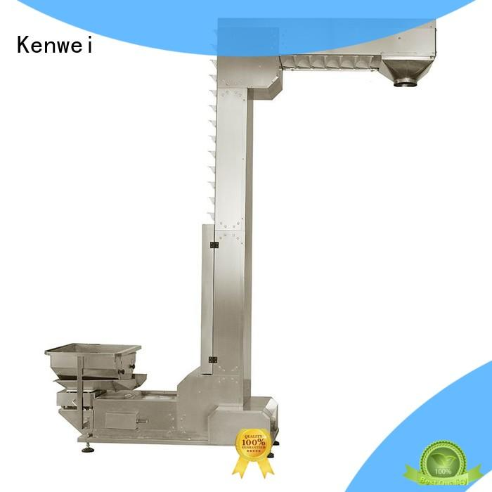 Kenwei online chain conveyor inclined factory