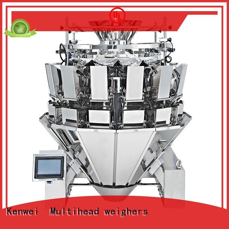 Máquina embotelladora de acero Kenwei fácil de desmontar para materiales con alta viscosidad