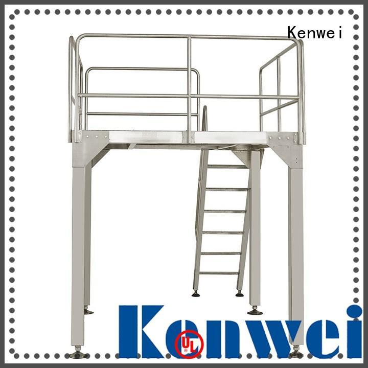 Kenwei miniature table rotative facile à démonter pour produits chimiques