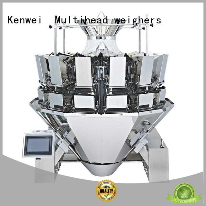 Kenwei convenient pouch filling machine for sale easy to disassemble for materials with oil