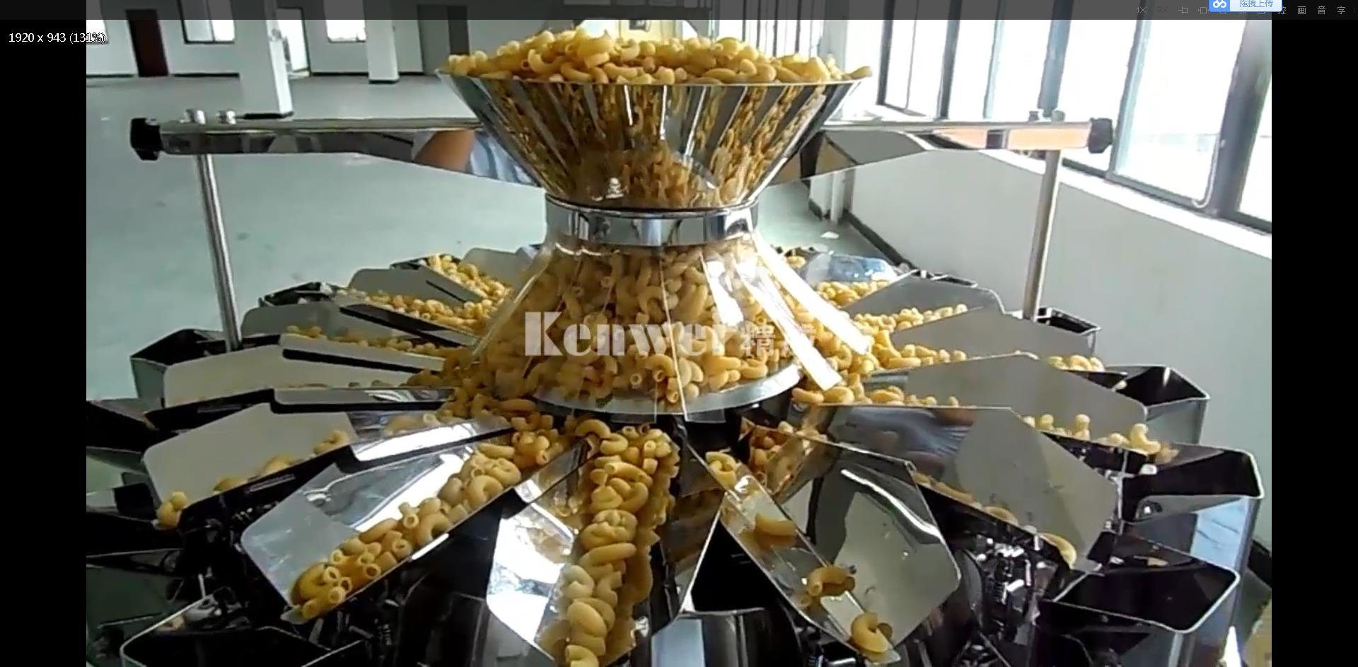16 Head High Speed Weigher - macaroni-Kenwei