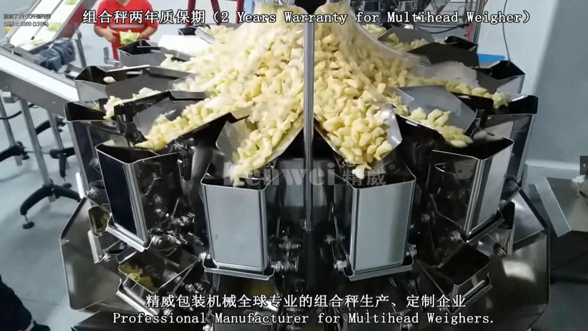 El peso de los alimentos heavy video
