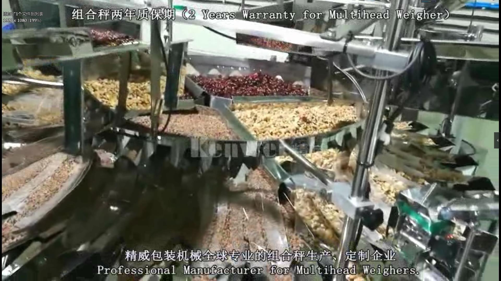 32 cabezas Alimentación y balanzas automatic 7 tipos de mezcla para mezclar en cubos