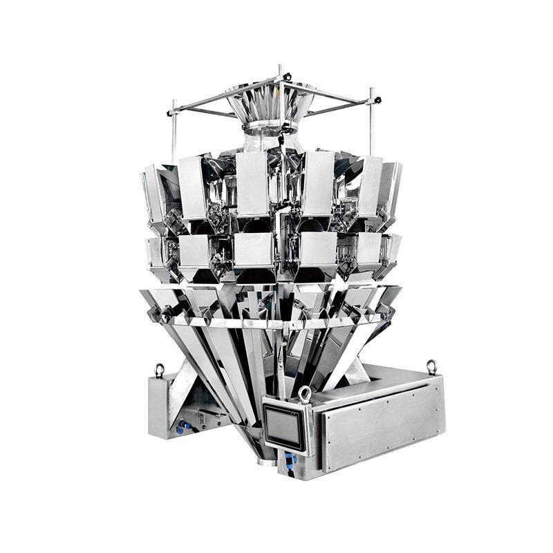 Pesadora multicabezal para productos en forma de barra