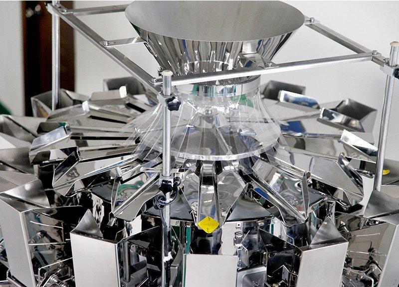 Máquina de enbolsado conveniente Kenwei fácil de desmontar para peces picantes-5