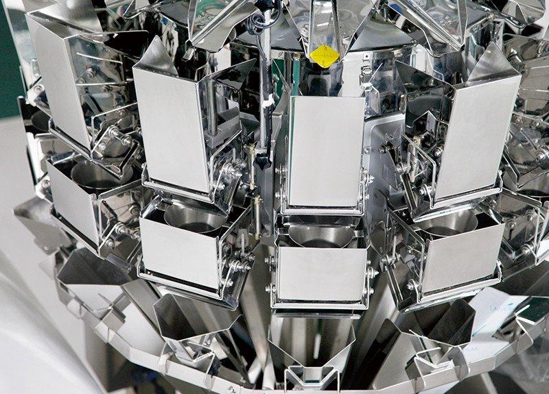 Máquina de envoltura retráctil de estabilidad multicabezal con sensores de alta calidad para peces picantes-6