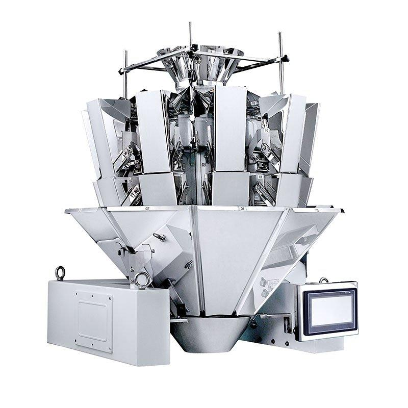 Automatic No-spring Multihead Weigher Potato Chips Crisps Packing Machine