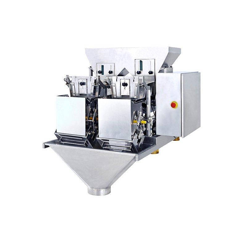 Pesadora lineal de 2 cabezales para leche en polvo 4.5L