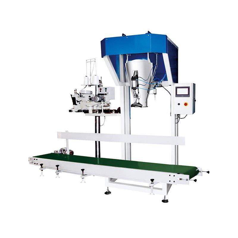 Machine de remplissage et de conditionnement de pesée en vrac