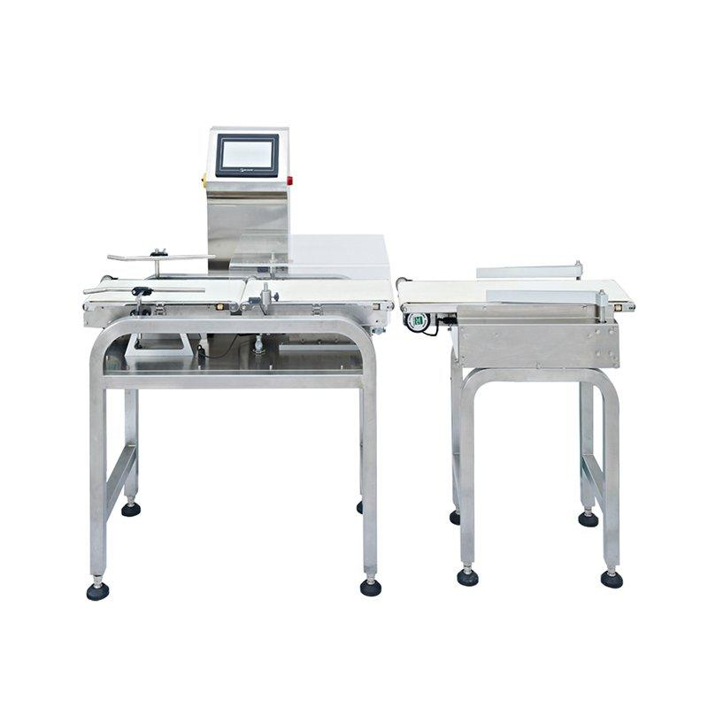 1000g  Food industry Automatic belt conveyor check weigher