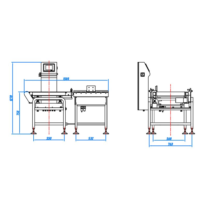 Kenwei -High-quality Packaging Machine | 2st G 30kg Check Weigher