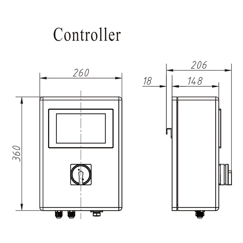 Personnalisation de détektor de métal longue durée Kenwei-1