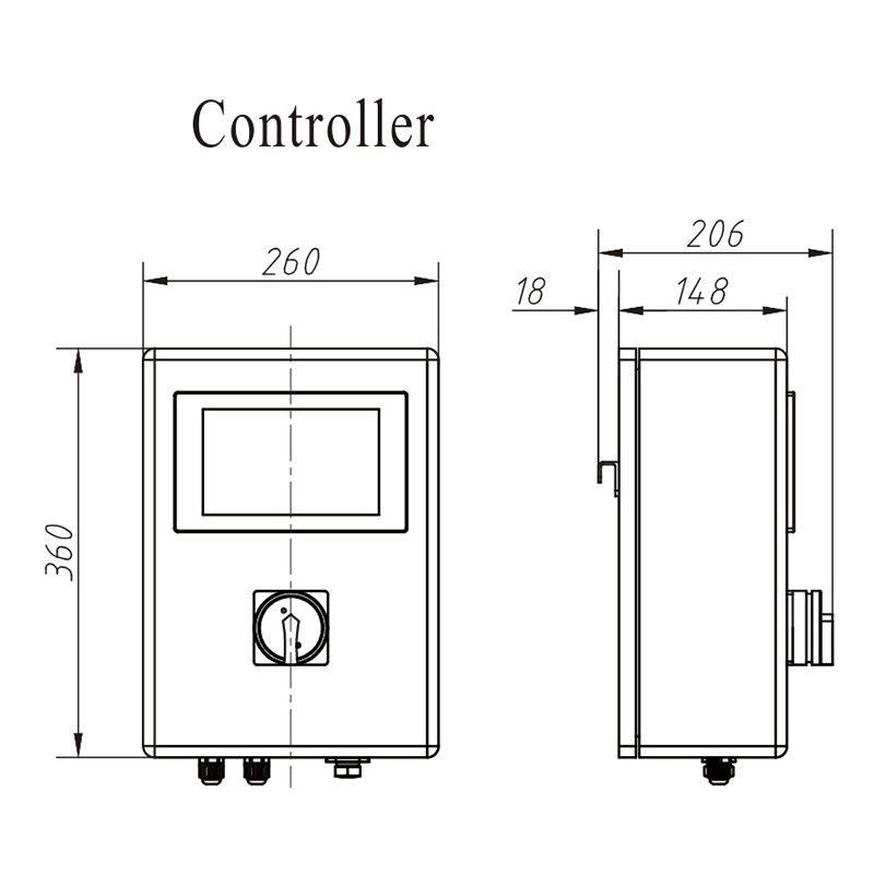 Kenwei تخصيص آلة رخيصة للكشف عن المعادن-1