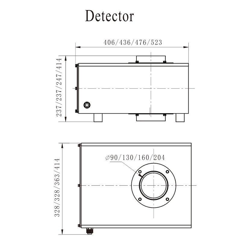 Kenwei تخصيص آلة رخيصة للكشف عن المعادن-2