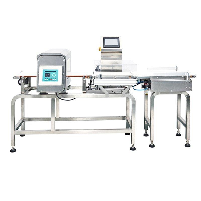 Comprobador de peso y detector de metales combinado