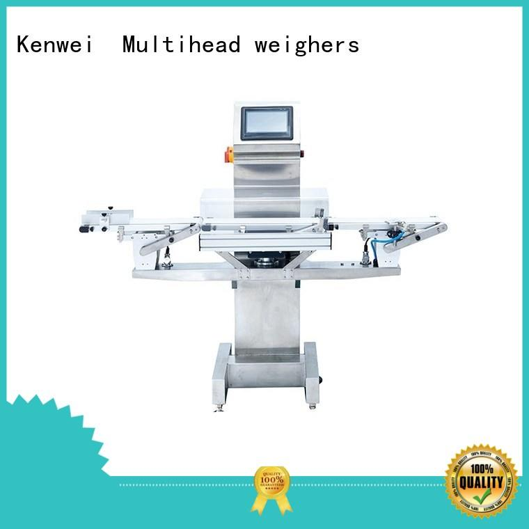 online checkweigher scale easy to disassemble for indoor/outdoor Kenwei