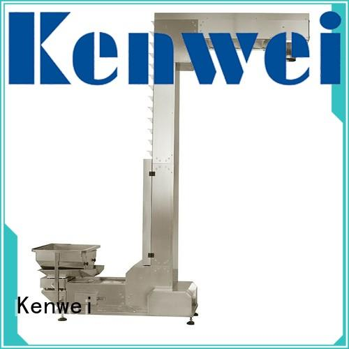 inclined product converyor conveyor system collecting Kenwei