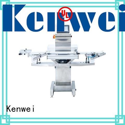 Máquina de control de peso en línea Kenwei con alta calidad