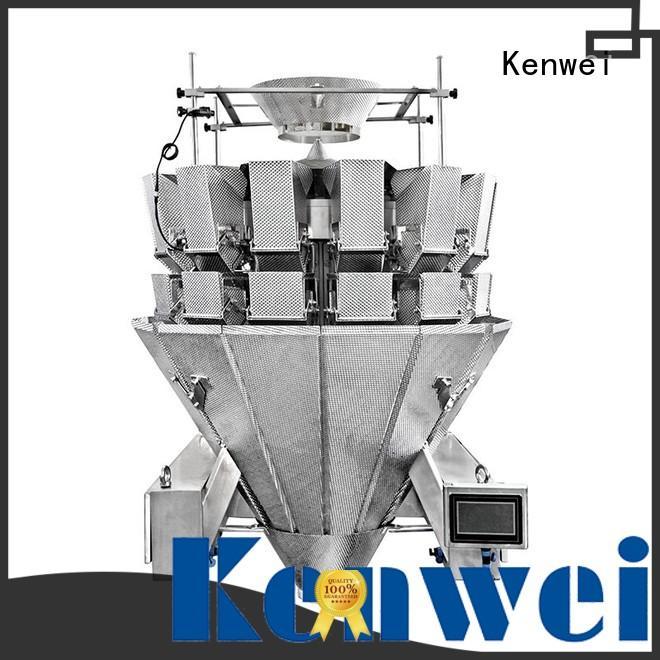 Máquina de sellado multicabezal fácil de desmontar para peces picantes Kenwei