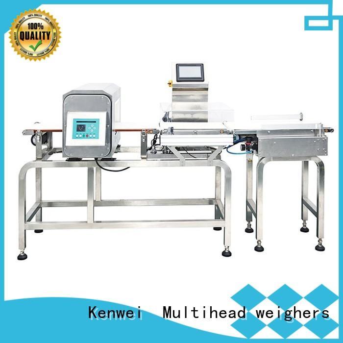 checkweigher and metal detector combined Kenwei Brand metaldetector