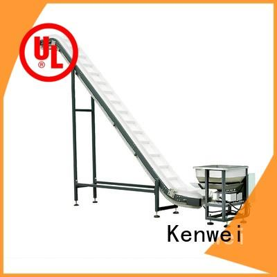 finished collecting Kenwei Brand packaging conveyor factory