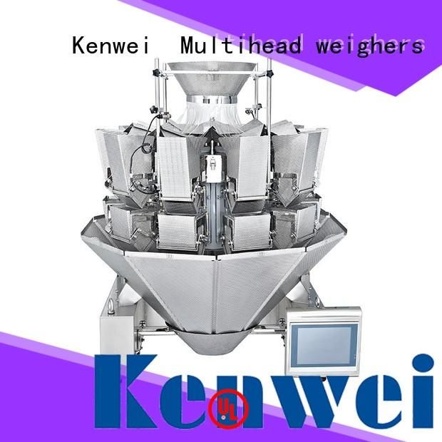 Kenwei steel multihead weigher with high quality for materials with oil