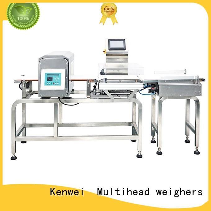 Detector de Metales combinado Kenwei peso metal para ropa