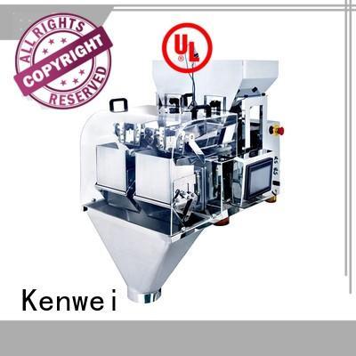 Kenwei grande poche machine d'emballage facile à démonter pour sel industriel