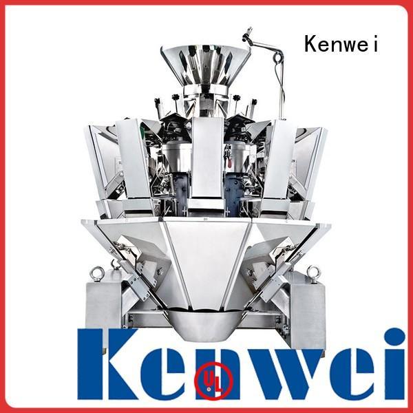 Máquina empacadora de ensalada Kenwei fácil de desmontar para pescado picante