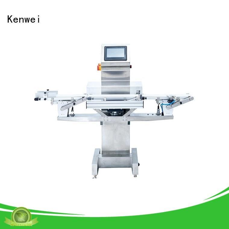 Kenwei Marca precisión mejor rendimiento opcional color máquina de balanzas de control personalizado