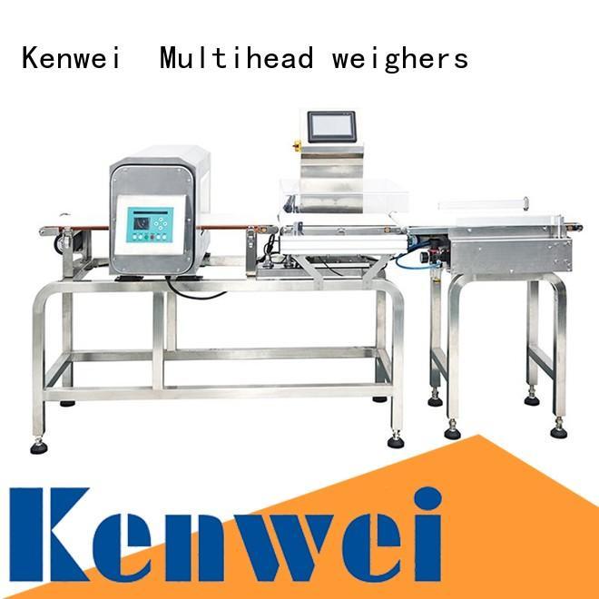 Kenwei Marca papel embalaje metaldetector mejor rendimiento fábrica