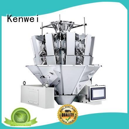 Kenwei pochette standard emballage machine avec capteurs de haute-qualité pour les matériaux avec de l'huile