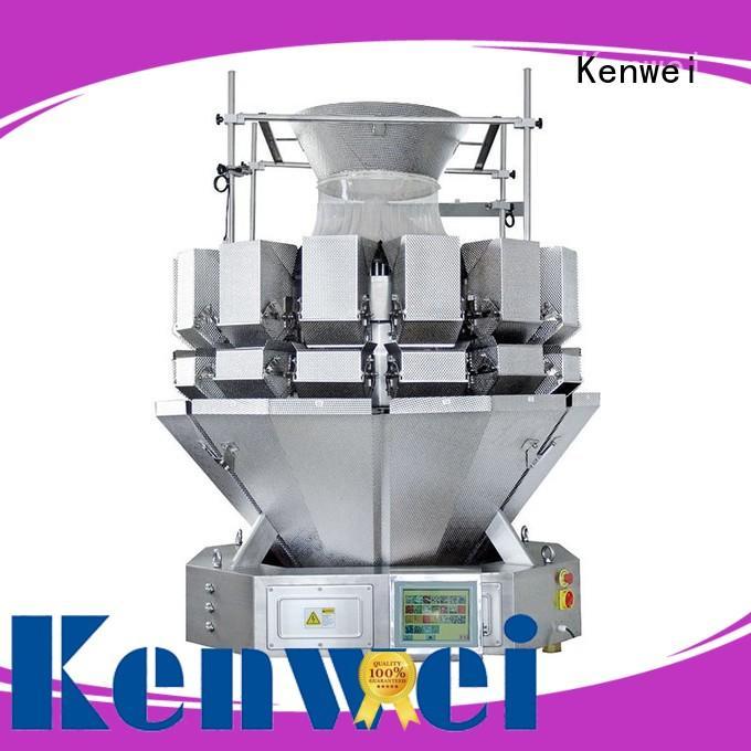 Kenwei trois bouteille machine de remplissage avec haute-qualité capteurs pour matériaux de haute viscosité
