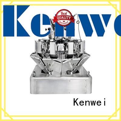 Kenwei bolsa adecuada máquina de embalaje peso para sal industrial