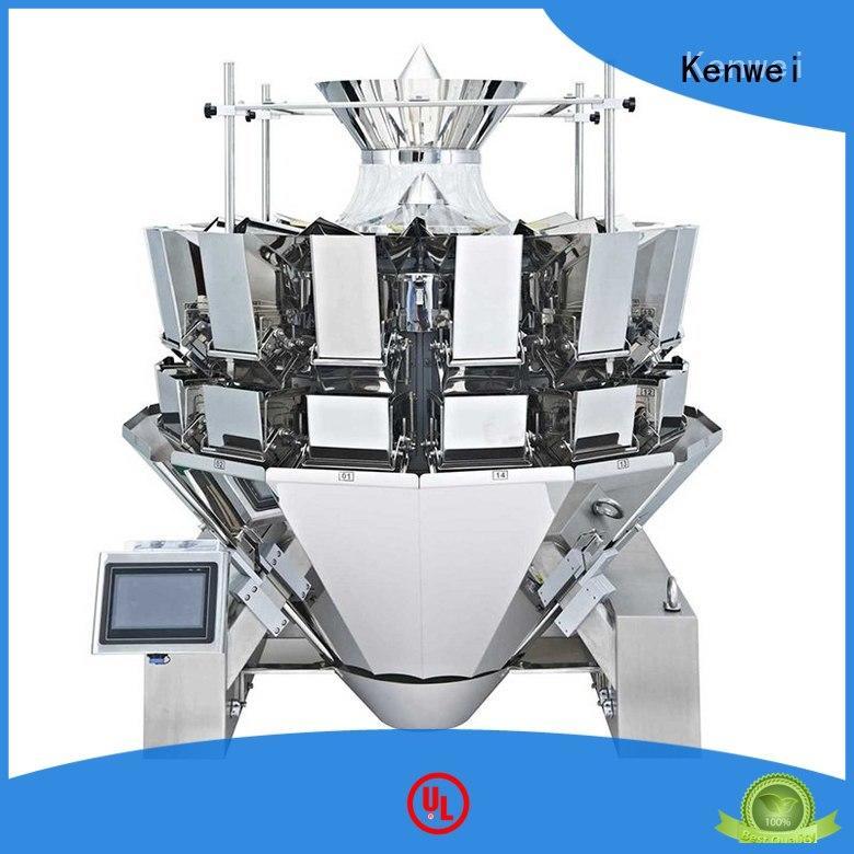 Máquina de embalaje de acero fácil de desmontar para materiales con alta viscosidad Kenwei