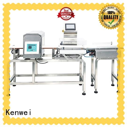 Kenwei flexibly checkweigher easy to install for chemical