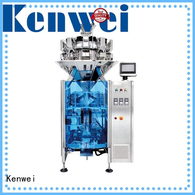 Kenwei packaging automatic weighing and filling machine easy to disassemble for raisins