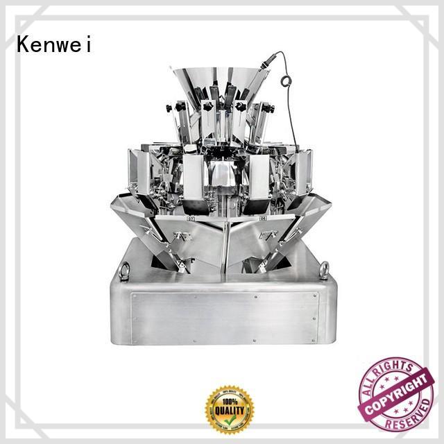 Emballage peseur machine avec de haute qualité pour les matériaux avec légère viscosité Kenwei