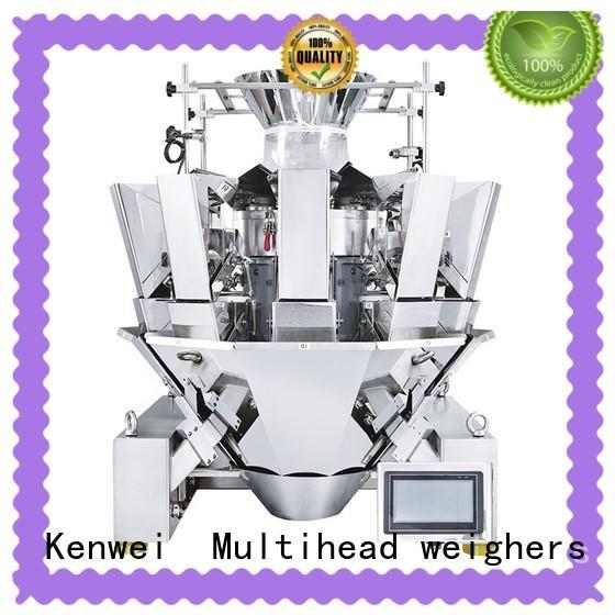 Máquina envuelta de alimentación Kenwei con sensores de alta calidad para materiales con aceite
