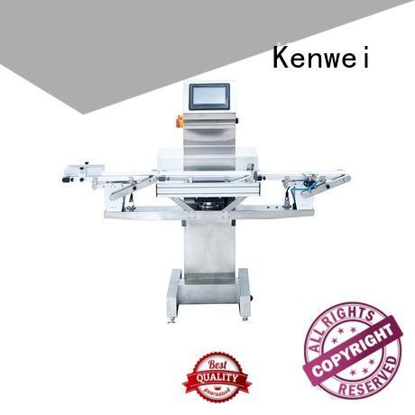 Máquina de control de peso duradera Kenwei fácil operación