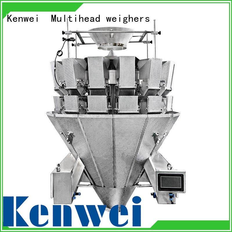 Custom three layers feeding control weight checker Kenwei high speed