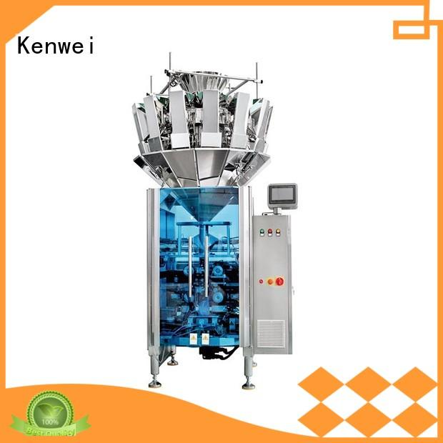 Hot weighing and packaging machine energy-saving Kenwei Brand