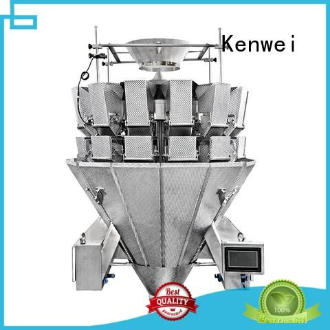 Kenwei noodle multihead packing machine easy to disassemble for spicy fish