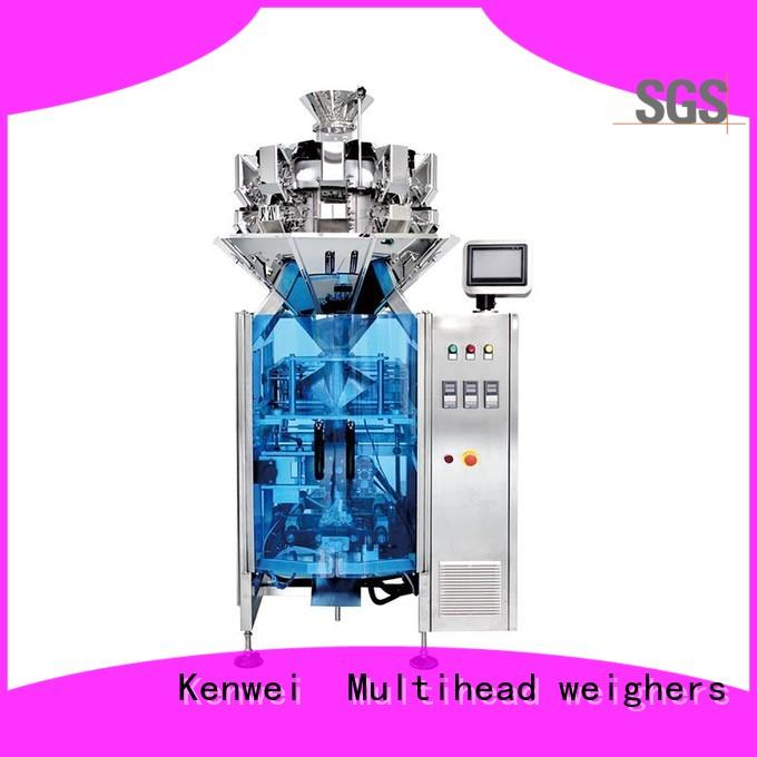 automatic pouch packing machine chemical paper packaging Kenwei company