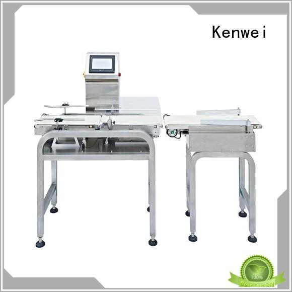 check weigher machine best performance durable precision Warranty Kenwei