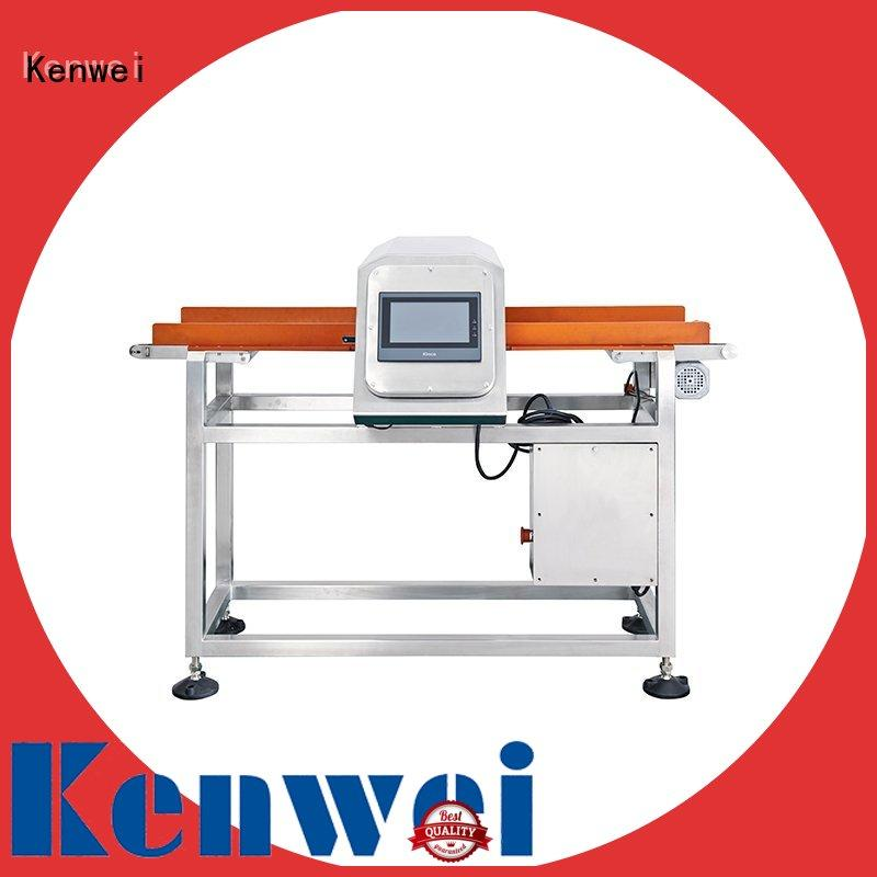 Kenwei horizontal cheap metal detectors easy to disassemble for toy rubber industry
