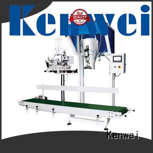 Kenwei en ligne poche machine d'emballage de haute qualité pour les matériaux avec légère viscosité