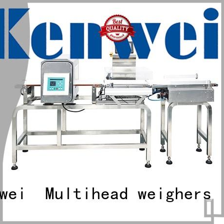 combined checkweigher detector easy to disassemble for clothing